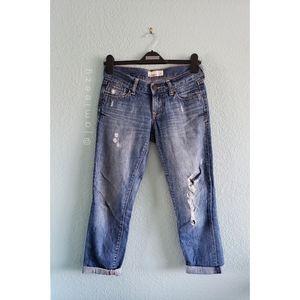 Old Navy | Distressed Artist Cropped Denim Jeans